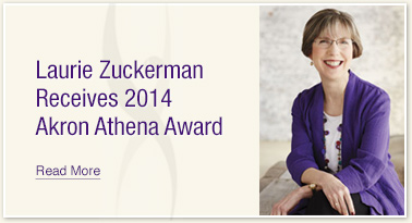 Laurie Zuckerman Receives 2014 Akron Athena Award